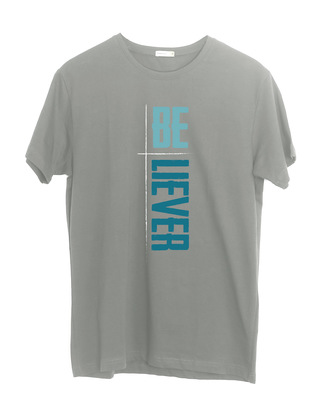 Shop Be-liever Half Sleeve T-Shirt-Front