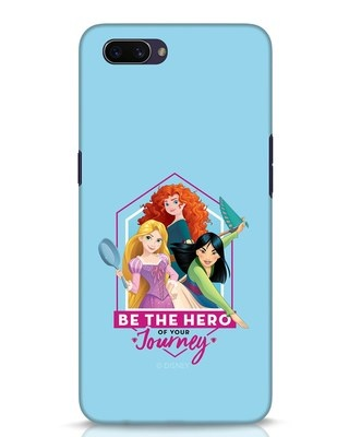 Shop Be The Hero Oppo A3S Mobile Cover (DL)-Front