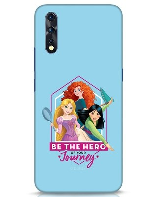 Shop Be The Hero Vivo Z1x Mobile Cover (DL)-Front