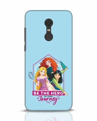 Shop Be The Hero Xiaomi Redmi Note 5 Mobile Cover (DL)-Front
