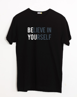 Shop Be You Half Sleeve T-Shirt-Front