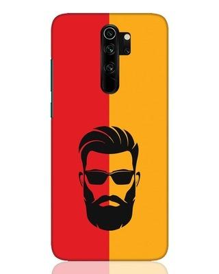 Shop Beard Boy Xiaomi Redmi Note 8 Pro Mobile Cover-Front
