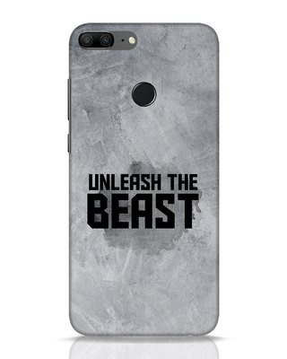 Shop Beast Is Unleashed Huawei Honor 9 Lite Mobile Cover-Front