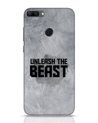 Shop Beast Is Unleashed Huawei Honor 9N Mobile Cover-Front