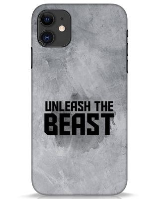 Shop Beast Is Unleashed iPhone 11 Mobile Cover-Front