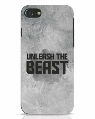 Shop Beast Is Unleashed iPhone 8 Mobile Cover-Front
