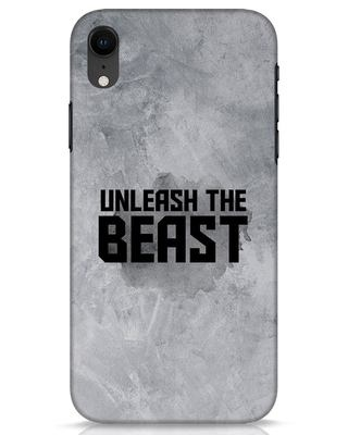 Shop Beast Is Unleashed iPhone XR Mobile Cover-Front