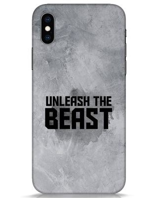 Shop Beast Is Unleashed iPhone XS Mobile Cover-Front