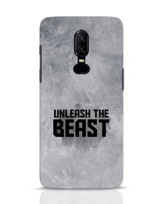 Shop Beast Is Unleashed OnePlus 6 Mobile Cover-Front