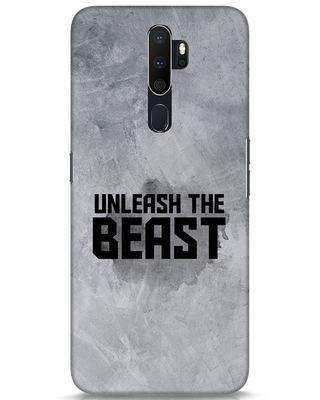 Shop Beast Is Unleashed Oppo A5 2020 Mobile Cover-Front