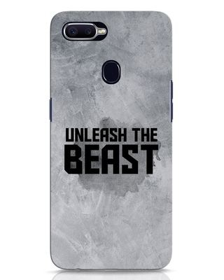Shop Beast Is Unleashed Oppo F9 Pro Mobile Cover-Front