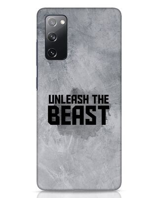 Shop Beast Is Unleashed Samsung Galaxy S20 FE Mobile Cover-Front