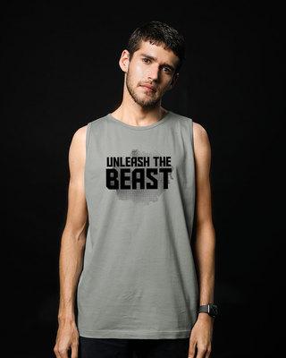 Shop Beast Is Unleashed Vest-Front