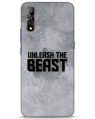 Shop Beast Is Unleashed Vivo S1 Mobile Cover-Front