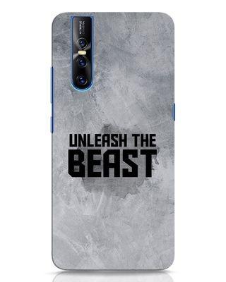 Shop Beast Is Unleashed Vivo V15 Pro Mobile Cover-Front