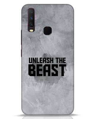 Shop Beast Is Unleashed Vivo Y17 Mobile Cover-Front