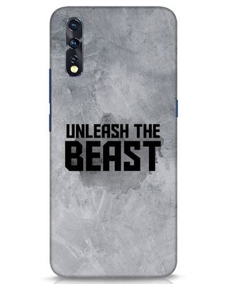 Shop Beast Is Unleashed Vivo Z1x Mobile Cover-Front