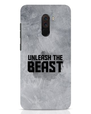 Shop Beast Is Unleashed Xiaomi POCO F1 Mobile Cover-Front