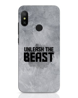 Shop Beast Is Unleashed Xiaomi Redmi 6 Pro Mobile Cover-Front