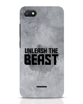Shop Beast Is Unleashed Xiaomi Redmi 6A Mobile Cover-Front