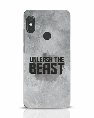 Shop Beast Is Unleashed Xiaomi Redmi Note 5 Pro Mobile Cover-Front
