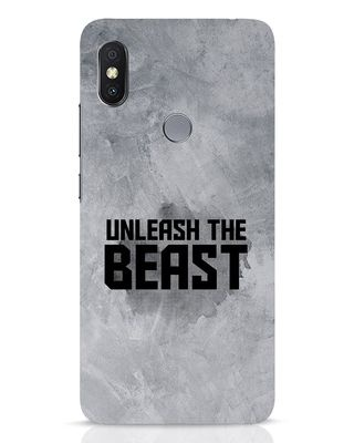 Shop Beast Is Unleashed Xiaomi Redmi Y2 Mobile Cover-Front