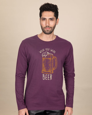 Shop Beer And You Full Sleeve T-Shirt-Front