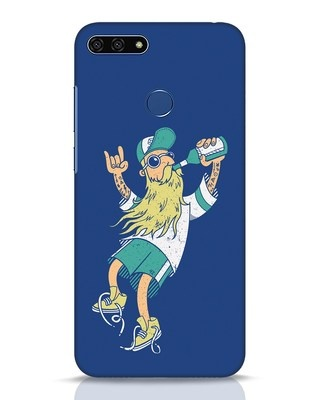 Shop Beer Guy Huawei Honor 7A Mobile Cover-Front