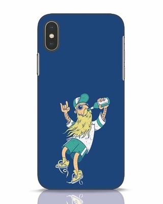 Shop Beer Guy iPhone X Mobile Cover-Front