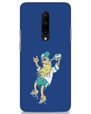 Shop Beer Guy OnePlus 7 Pro Mobile Cover-Front