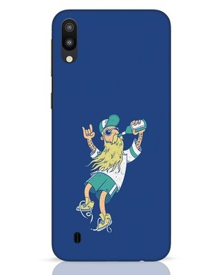 Shop Beer Guy Samsung Galaxy M10 Mobile Cover-Front