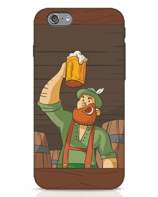 Shop Beer It On iPhone 6 Mobile Cover-Front
