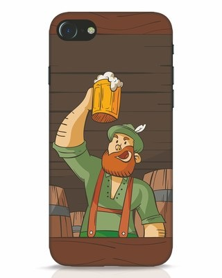 Shop Beer It On iPhone 8 Mobile Cover-Front