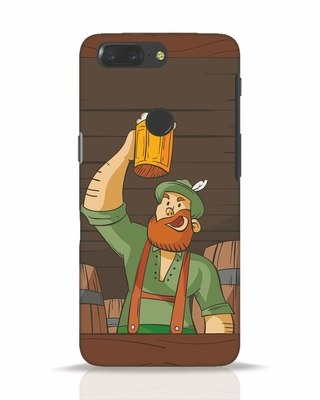 Shop Beer It On OnePlus 5T Mobile Cover-Front