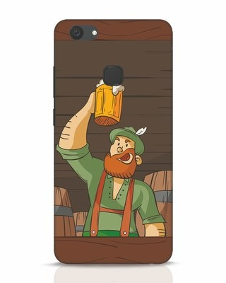 Shop Beer It On Vivo V7 Plus Mobile Cover-Front