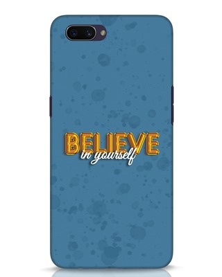 Shop Believe Balloon Oppo A3S Mobile Cover-Front