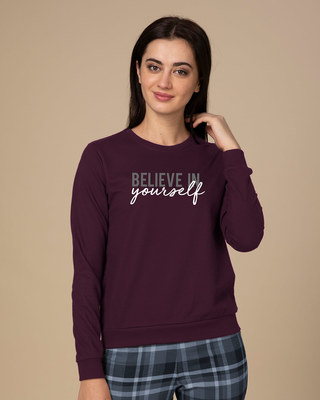 Shop Believe In You Sweatshirt-Front