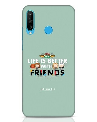 Shop Better Friends Huawei P30 Lite Mobile Cover (FRL)-Front