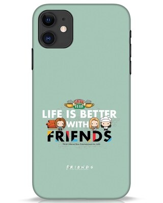 Shop Better Friends iPhone 11 Mobile Cover (FRL)-Front