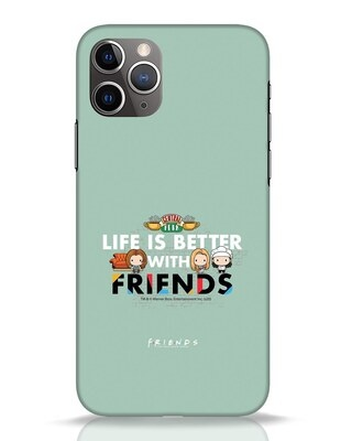 Shop Better Friends iPhone 11 Pro Mobile Cover (FRL)-Front