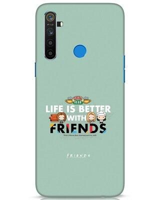 Shop Better Friends Realme 5 Mobile Cover (FRL)-Front