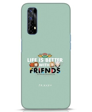 Shop Better Friends Realme 7 Mobile Cover (FRL)-Front