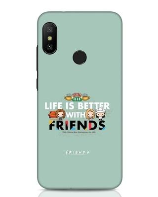 Shop Better Friends Xiaomi Redmi Note 6 Pro Mobile Cover (FRL)-Front