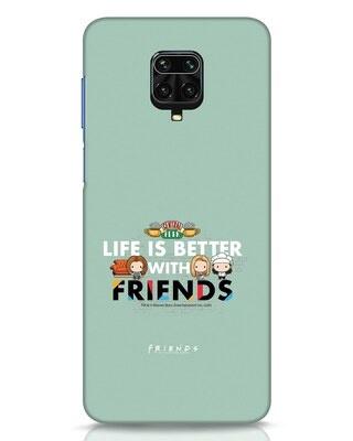 Shop Better Friends Xiaomi Redmi Note 9 Pro Mobile Cover (FRL)-Front
