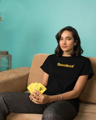 Shop Bewakoof Color Boyfriend T-Shirt-Front