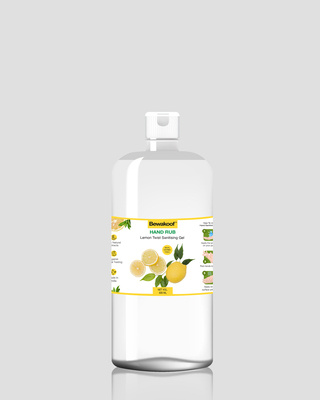 Shop Bewakoof Hand Rub Sanitising Gel- Lemon (500 ml)-Front