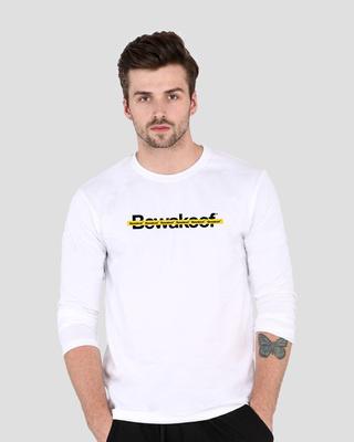 Shop Bewakoof Line Full Sleeve T-Shirt-Front