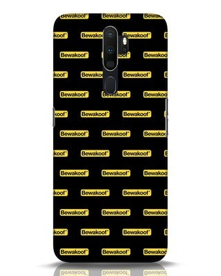 Shop Bewakoof Pattern Oppo A5 2020 Mobile Cover-Front