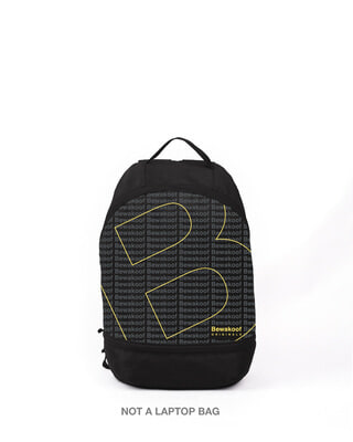 Shop Bewakoof Tribe 1 Printed Small Backpack-Front
