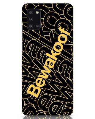 Shop Bewakoof Wire Samsung Galaxy A31 Mobile Cover-Front